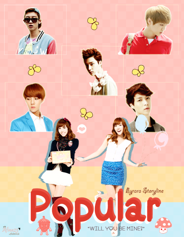 Poster 'Popular'