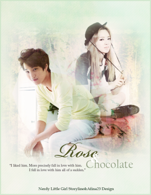 Poster 'Rose & Chocolate'